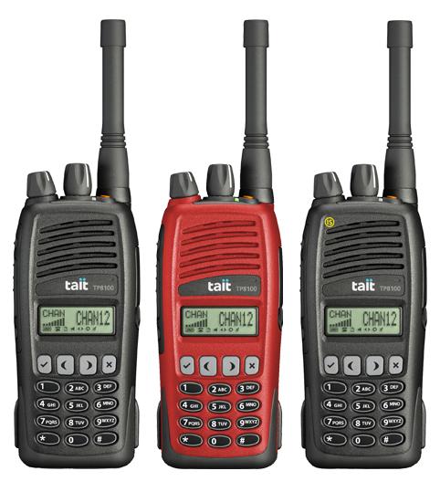 Radio Portátil Tait TP8100